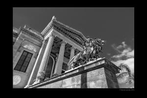Il teatro dell'opera di Palermo