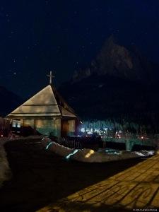 Notturno del cimitero di Siusi all Sciliar