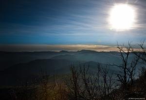 Paesaggio dal Monte delle Formiche